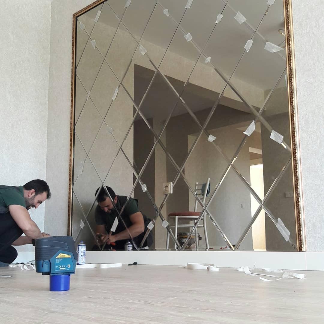 Efor Cam & Ayna - Baklava Dilimi Ayna İşlerimiz