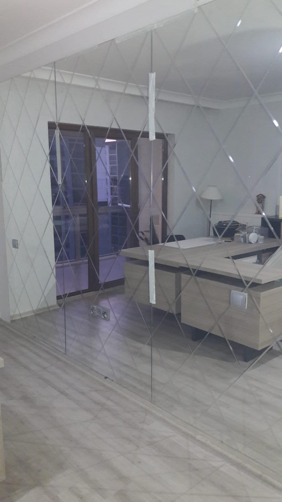 Efor Cam & Ayna - Ofis  ve Dükkan Ayna  Cam İşlerimiz